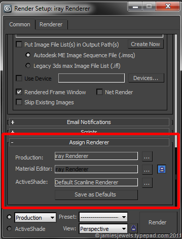 17  3ds Max Quicktip: iray and material editors - Jamie's Jewels
